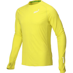 inov-8 Base Elite Longsleeve Shirt Heren, yellow
